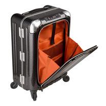 LEGEND WALKER กระเป๋าเดินทาง รุ่น 6203-50 ขนาด 20 นิ้ว สี R.CB BLACK SILVER