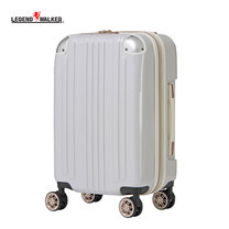LEGEND WALKER กระเป๋าเดินทาง รุ่น 5122-55 ขนาด 22 นิ้ว - สี White Carbon