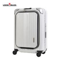 LEGEND WALKER กระเป๋าเดินทาง รุ่น 6203-50 ขนาด 20 นิ้ว สี R.CB WHITE SILVER