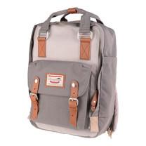 DOUGHNUT กระเป๋าเป้ รุ่น MACAROON CLASSIC - สี Ivory X Light Grey