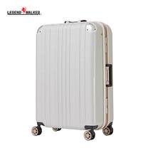 LEGEND WALKER กระเป๋าเดินทาง รุ่น 5122-68 ขนาด 27 นิ้ว - สี White Carbon