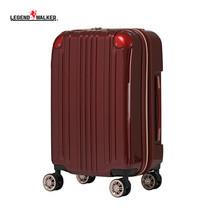 LEGEND WALKER กระเป๋าเดินทาง รุ่น 5122-55 ขนาด 22 นิ้ว - สี Wine Red