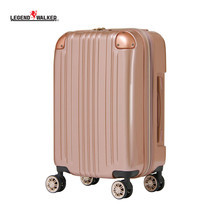 LEGEND WALKER กระเป๋าเดินทาง รุ่น 5122-55 ขนาด 22 นิ้ว - สี Rose Gold