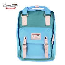 DOUGHNUT กระเป๋าเป้ รุ่น MACAROON CLASSIC - สี Turquoise X Sky Blue