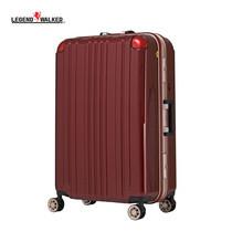 LEGEND WALKER กระเป๋าเดินทาง รุ่น 5122-62 ขนาด 25 นิ้ว - สี Wine Red