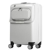 LEGEND WALKER กระเป๋าเดินทาง รุ่น 6025-48 ขนาด 20 นิ้ว สี WHITE CARBON