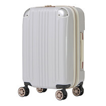 LEGEND WALKER กระเป๋าเดินทาง รุ่น 5122-48 ขนาด 20 นิ้ว - สี White Carbon