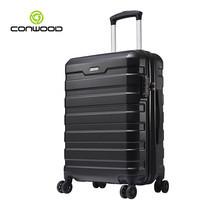 CONWOOD กระเป๋าเดินทาง รุ่น CT866 ขนาด 24 นิ้ว สี BLACK
