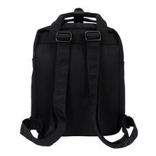 DOUGHNUT กระเป๋าเป้ รุ่น MACAROON MINI - สี Super Black