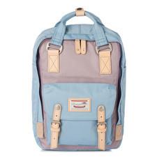 DOUGHNUT กระเป๋าเป้ รุ่น MACAROON CLASSIC - สี Lilac X Light Blue