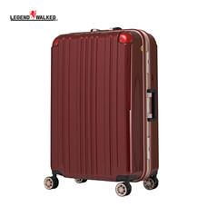 LEGEND WALKER กระเป๋าเดินทาง รุ่น 5122-68 ขนาด 27 นิ้ว - สี Wine Red