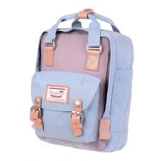 DOUGHNUT กระเป๋าเป้ รุ่น MACAROON MINI - สี Lilac X Light Blue