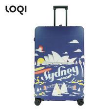 LOQI ผ้าคลุมกระเป๋า รุ่น Urban Sydney Size L (28-32 นิ้ว)