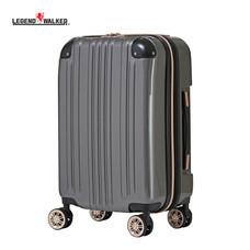 LEGEND WALKER กระเป๋าเดินทาง รุ่น 5122-55 ขนาด 22 นิ้ว - สี Carbon