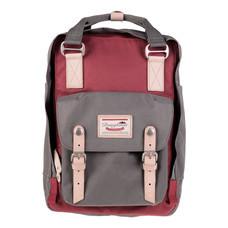 DOUGHNUT กระเป๋าเป้ รุ่น MACAROON CLASSIC - สี Wine X Grey