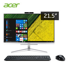 Acer Aspire All-in-one Desktop C22-860-724G1T21Mi/ T002 NT Ci5 7th Generation Intel Core i5-7200 / RAM 4GB/ HDD 1TB / 21.5