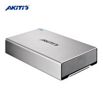 "Akitio SK-3501 Super-S3 กล่องอ่าน HDD/SSD 1 ช่อง ขนาด 3.5"" พอร์ต USB 3.0 + eSATA + Firewire 800"