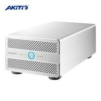 Akitio Thunder3 Duo Pro กล่องอ่าน HDD/SSD 2 ช่อง ขนาด 2.5