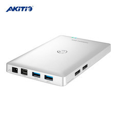 Akitio Neutrino Thunder2 Dock อะแดปเตอร์แปลง Thunderbolt2 > 2 x USB3.0 , 2 x eSATA, Firewire 800