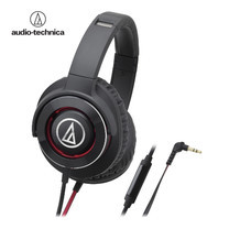 audio-technica ATH-WS770iS Solid Bass Headphone W/Remote & Mic for iPhone& Smartphone
