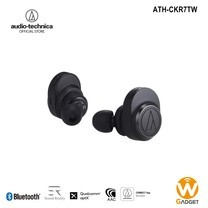 Audio Technica หูฟังบลูธูท รุ่น ATH-CKR7TW True Wireless Bluetooth Earphone - Black