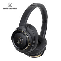 หูฟัง Audio Technica ATH-WS660BT Wireless Headphone Solid Bass - Black/Gold