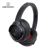 หูฟัง Audio Technica ATH-WS660BT Wireless Headphone Solid Bass - Black/Red