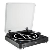 เครื่องเล่นแผ่นเสียง Audio-Technica รุ่น Bluetooth Turntable AT-LP60BT - Black