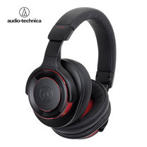 หูฟัง Audio Technica WS990BT Wireless Headphone Solid Bas - Black/Red