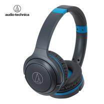 หูฟังไร้สาย Audio Technica ATH-S200BT - Gray Blue