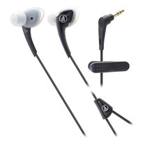 Audio Technica SONIC SPORTS Comfort Fit with Mic ATHSPORTS2 - Black