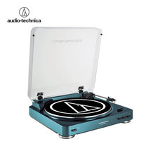เครื่องเล่นแผ่นเสียง Audio-Technica รุ่น Automatic Turntable AT-LP60USB - Blue