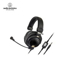 หูฟังเกมมิ่ง Audio Technica รุ่น ATH PG1 44mm Premium Closed-Back Dynamic Gaming Headset - Black