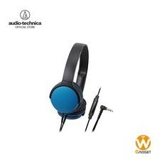 Audio Technica หูฟัง รุ่น ATH-AR1iSBL Blue On-Ear Headphones - Blue