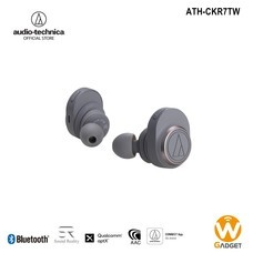 Audio Technica หูฟังบลูธูท รุ่น ATH-CKR7TW True Wireless Bluetooth Earphone - Gray