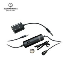 Audio Technica รุ่น ATR-3350IS ไมโครโฟนสำหรับสมาร์ทโฟน Omnidirectional Condenser Lavalier Mic with Smartphone Adapter
