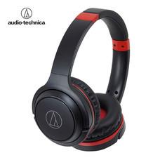 หูฟังไร้สาย Audio Technica ATH-S200BT - Black Red
