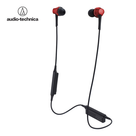 หูฟังไร้สาย Audio Technica ATH-CKR75BT Wireless In-Ear Headphones - Red