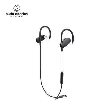 หูฟังไร้สาย Audio-Technica รุ่น ATH-SPORT70BTBK Sport Wireless in-ear Headphones - Black