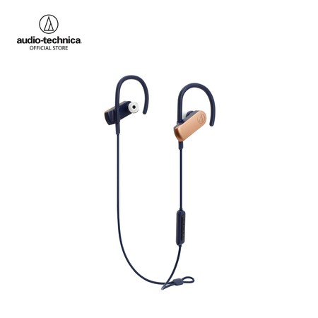 หูฟังไร้สาย Audio-Technica ATH-SPORT70BT SonicSport Wireless in-Ear Headphones - Rose Gold