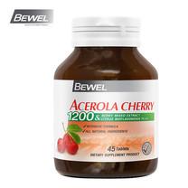 BEWEL Acerola Cherry 1200 & Berry Mixed Extract 1200 mg (45 เม็ด)
