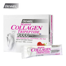 BEWEL Marine Collagen Tripeptide 10000 mg  Raspberry (14 g x 12 pcs)