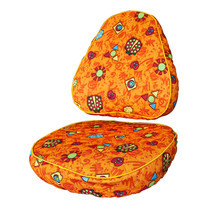 Comf-Pro ผ้าคลุมเก้าอี้ - Orange (Ladybug)