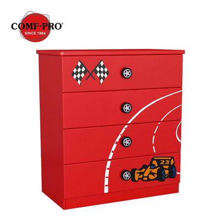 Comf-Pro ลิ้นชักอเนกประสงค์ Racing Cabinet - Red