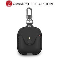 กระเป๋า Cozi Leather Case For Apple AirPods (Black)