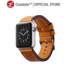 Leather Band for Apple Watch (Light Tan) for 42/44mm