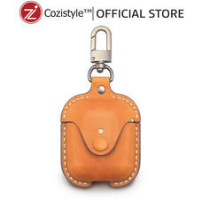 กระเป๋า Cozi Leather Case For Apple AirPods (Tan)