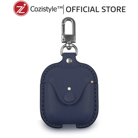 กระเป๋า Cozi Leather Case For Apple AirPods (Dark Blue)