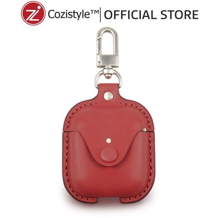 กระเป๋า Cozi Leather Case For Apple AirPods (Red)
