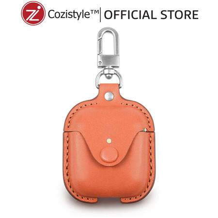 กระเป๋า Cozi Leather Case For Apple AirPods (Orange)